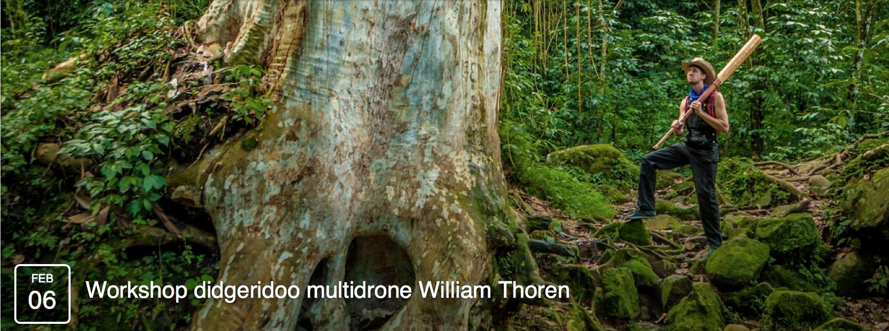 William Thoren Didgeridoo Workshop in France