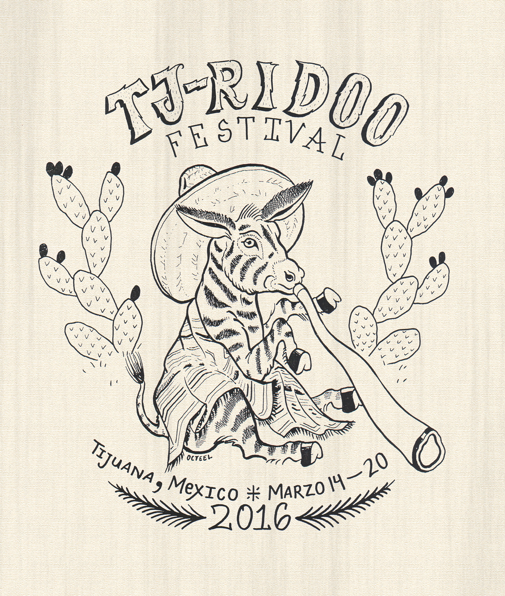 TJRIDOO Mexico Didgeridoo festival